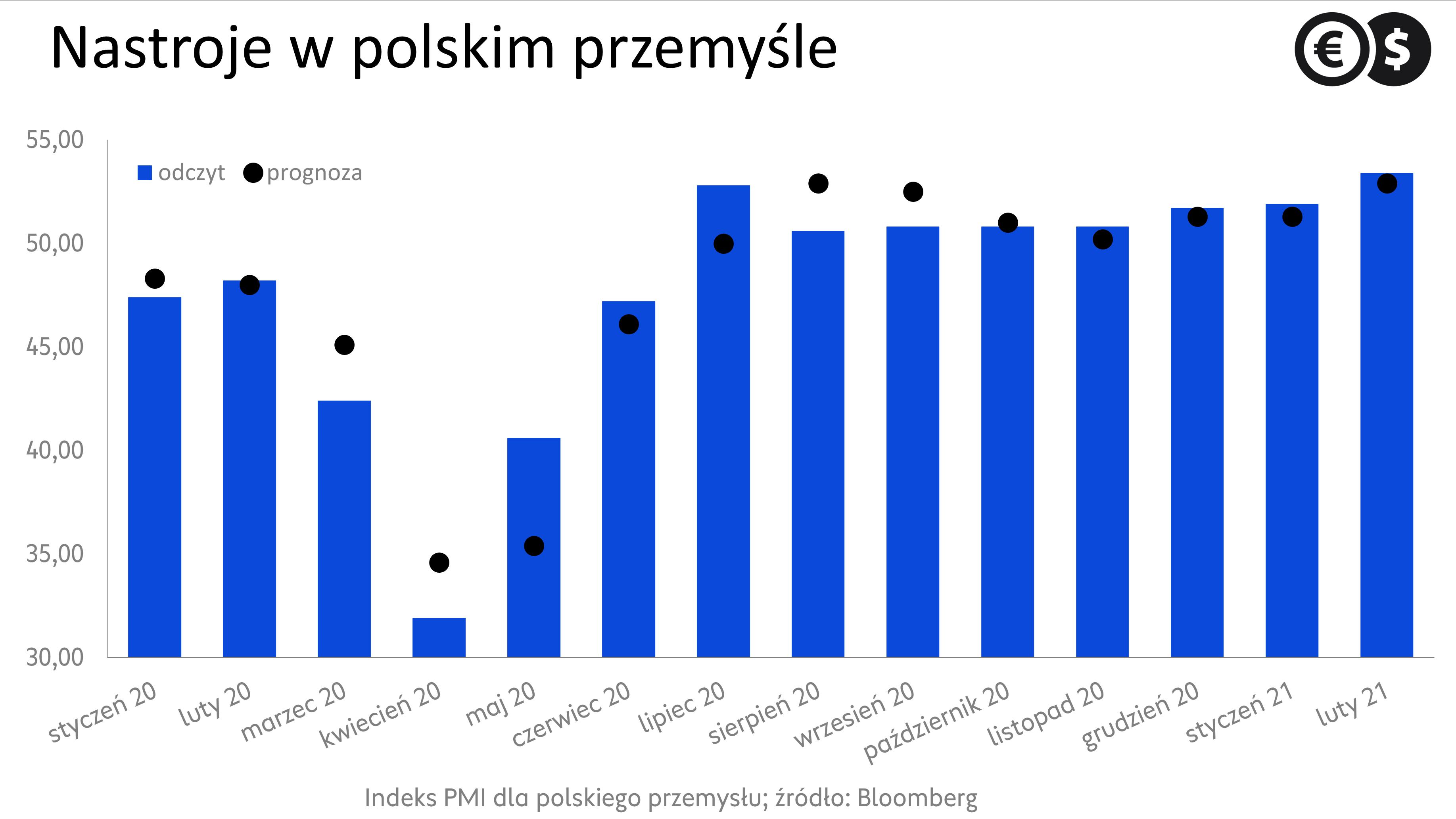 Nastroje w polskim przemyśle