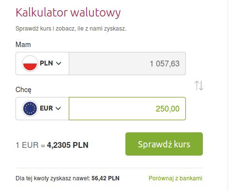 Kurs EUR